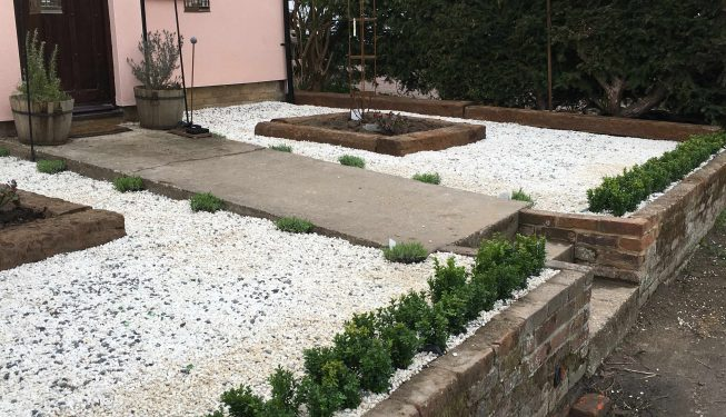 landscaping services in Witham